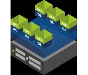Deploy a virtual fax server solution on VMware, Hyver-V, or XenServer.
