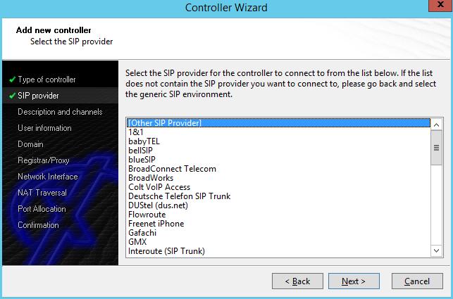 XCAPI HandSIP T38 Configuration - Step 2