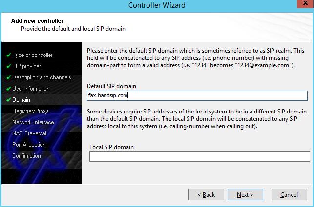 XCAPI HandSIP T38 Configuration - Step 5