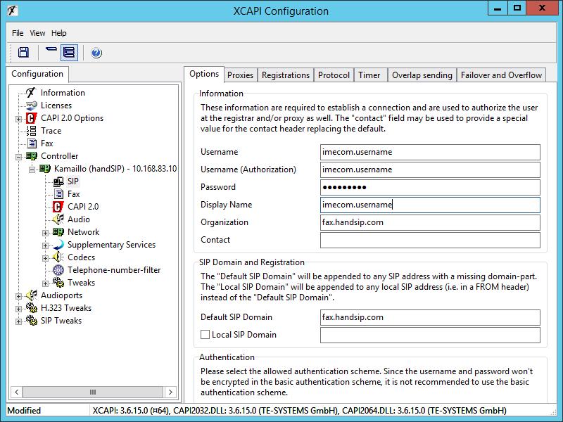 XCAPI HandSIP T38 Configuration - Step 10
