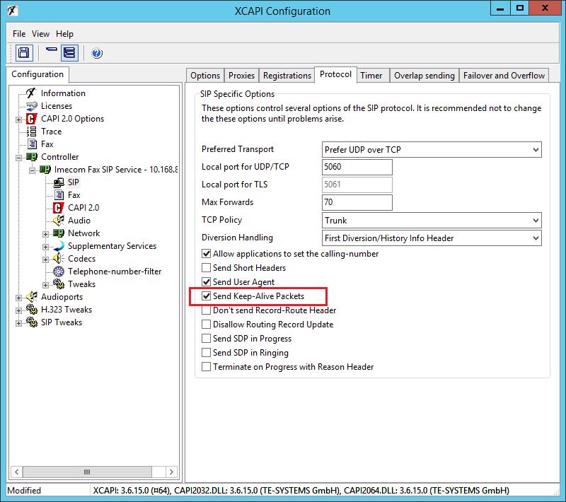 XCAPI HandSIP T38 Configuration - Step 12