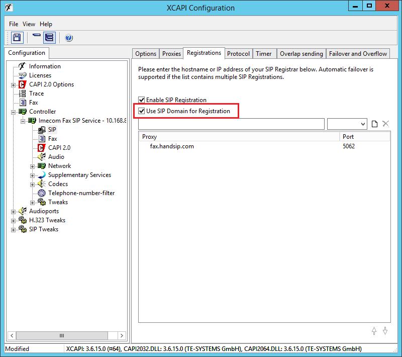XCAPI HandSIP T38 Configuration - Step 11