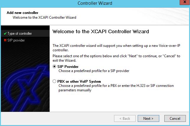 XCAPI HandSIP T38 Configuration - Step 1